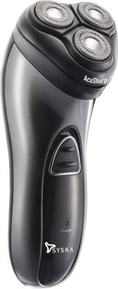 Syska SH7200 Shaver For Men (Black)