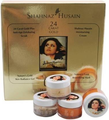 shahnaz S. Husain 24 Carat Gold Skin Radiance Kit 40 g (Set of 4)