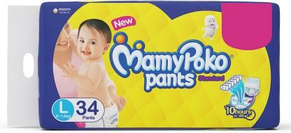 Get Upto 25% Off on MamyPoko Pants Standard