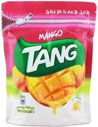 TANG Mango Drink Powder (Imported) Resealable Nutrition Drink