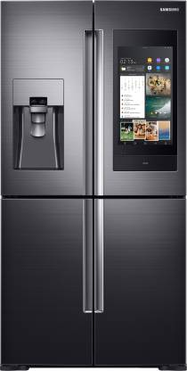 Samsung 810 L Frost Free Side by Side Inverter Technology Star (2019) Convertible Refrigerator(Black Caviar, RF28N9780SG/TL)