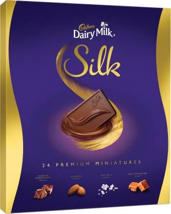 Cadbury Dairy Milk Silk Miniatures Chocolate Gift Box Bars