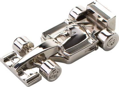 nexShop Creative Metallic Buggie Shape Fancy Car USB Flash Disk 16 GB Pen Drive(Silver)