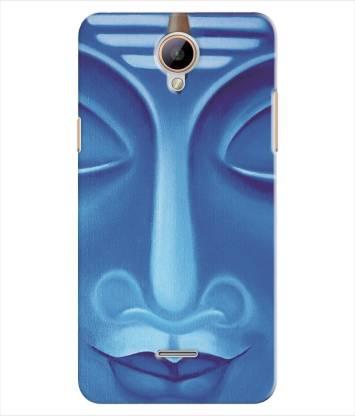 Inktree Back Cover for Intex Aqua Star 4G