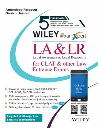 LA & LR for CLAT & Other Law Entrance Exams First Edition