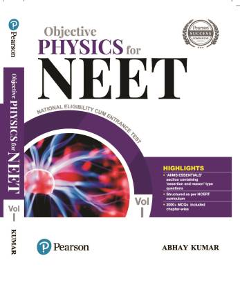 Objective Physics for NEET Vol.1, 3rd Edition by Pearson