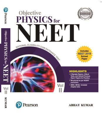 Objective Physics for NEET Vol.2, 2nd Edition by Pearson