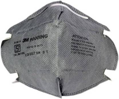 3M Pack Of 1 9001ING Anti pollution Grey