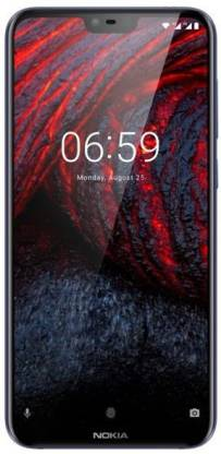 Nokia 6.1 Plus (Blue, 64 GB)