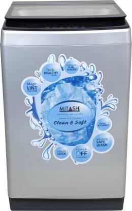 MITASHI 7.8 kg Fully Automatic Top Load Grey