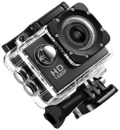 CALLIE action camera 1080P 12Mp Car Bike Helmet Cam Sports and Action Camera