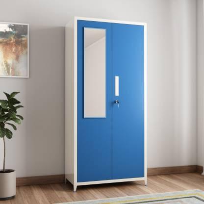 Woodness Ryan Metal 2 Door Wardrobe