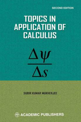 TOPICS IN APPLICATION OF CALCULUS