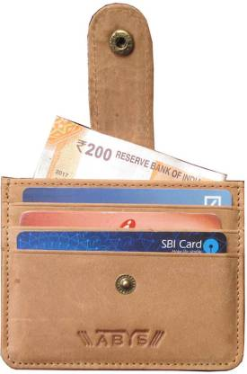 ABYS 7 Card Holder  (Set Of 1, Multicolor)