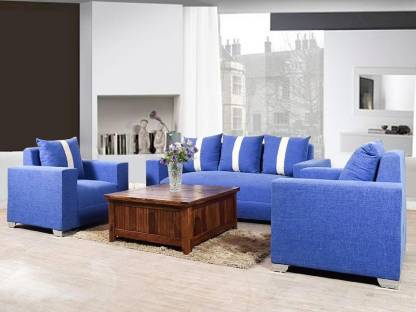 Lillyput Mika Fabric 3 1 1 Ink Blue Sofa Set Price In India Buy Lillyput Mika Fabric 3 1 1 Ink Blue Sofa Set Online At Flipkart Com