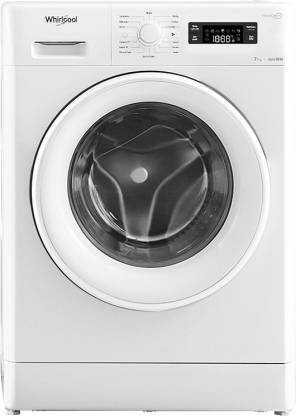 Whirlpool 7 kg Fully Automatic Front Load White