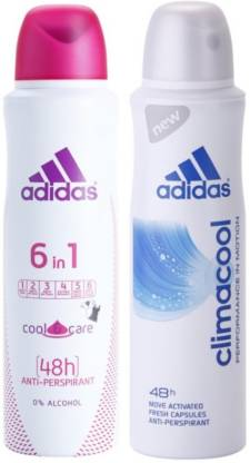 ADIDAS 6 IN 1 with Climacool Deodorant Spray - For Women