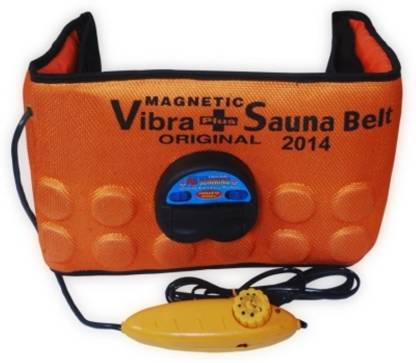 Navyamall Orange 3 in 1 Vibrating Magnetic Slimming Belt