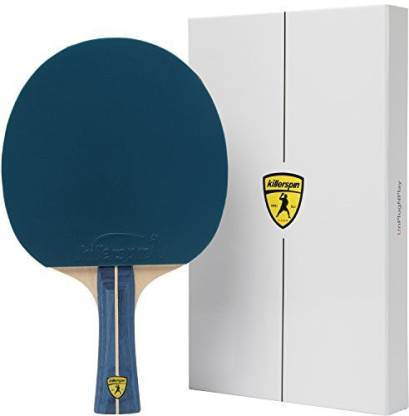 Killerspin JET200 BluVanilla Table Tennis Paddle - Blue Ping Pong Paddle That Will Help You Sharpen Your Table Tennis Skills Pac