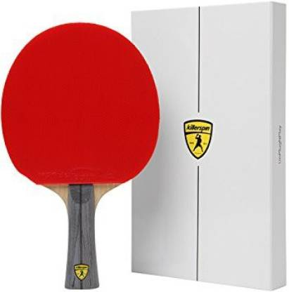 Killerspin JET600 Table Tennis Paddle - Multi-Colour Ping Pong Paddle Designed for Powerful all-around Play wrapped in White Mem
