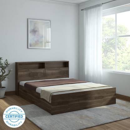 Hometown Alyssa Engineered Wood King Box Bed