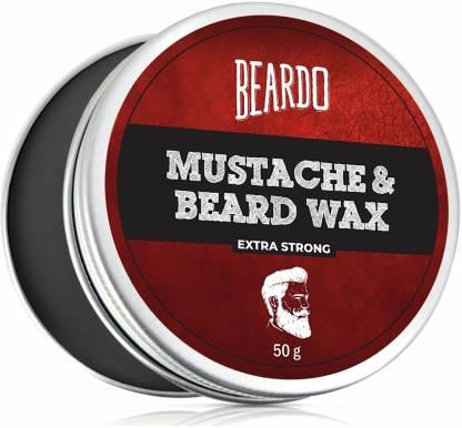 BEARDO Beard & Mustache Wax Extra Strong 50 Gm Hair Wax