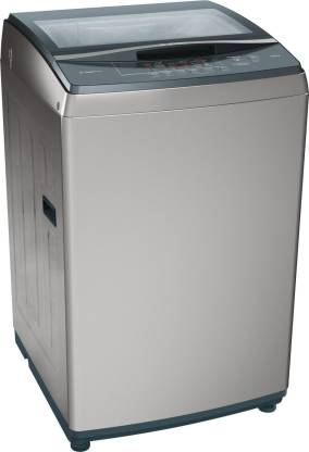 BOSCH 8 kg Fully Automatic Top Load Grey