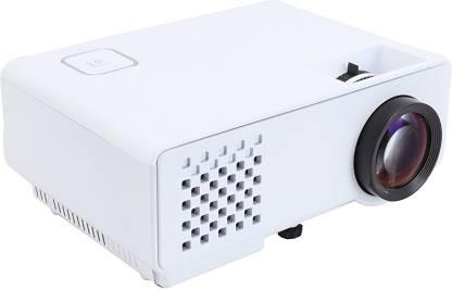myra M810 LED Projector 1000 Lumens, 800*480, Support 1080P, HDMI, VGA, AV, USB, Anaglyph 3D Support Portable Projector