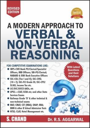Verbal and Non-Verbal Reasoning R S Aggarwal