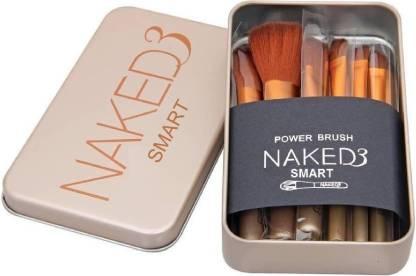 SMART naked3 makeup PACK 12 brush set