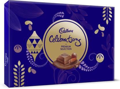 Cadbury Celebrations Premium Assorted Chocolate Gift Pack, 286.3 g Bars