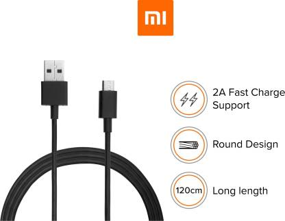 Mi SJV41541N/SJV4116IN 1.2 m Micro USB Cable  (Compatible with Android and Other Micro USB Supported Devices)