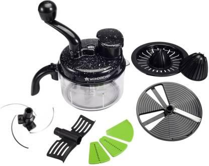 WONDERCHEF Turbo Chopper & Food Processor Vegetable & Fruit Grater & Slicer
