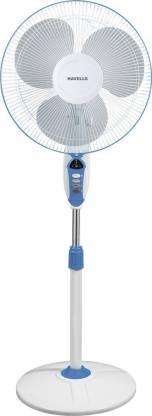 HAVELLS 400 MM SPRINT LED BLUE PEDESTAL FAN 3 Blade Pedestal Fan