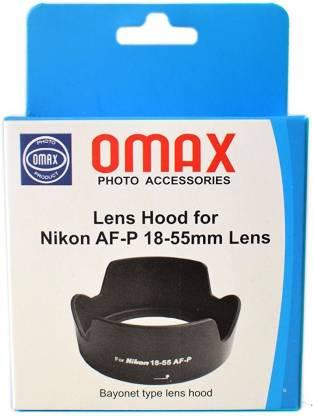 OMAX For Nikkor AF-P 18-55mm VR  Lens Hood