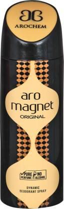 AROCHEM ARO MAGNET DYNAMIC DEODORANT BODY SPRAY Deodorant Spray  -  For Men & Women