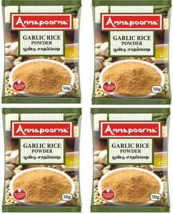 Annapoorna Garlic Rice Powder 50gms Pack of 4