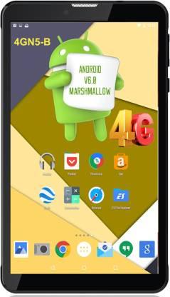 I Kall 4GN5 2 GB RAM 16 GB ROM 7 inch with Wi-Fi+4G Tablet (Black)