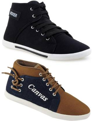 Chevit Combo Pack of 2 Casual Shoes Loafers For Men