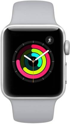 Apple Watch Series 3 42 mm Silver Aluminum White Sport Band (GPS)