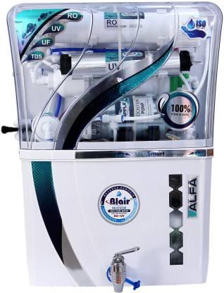 Blair ALFA RO UV UF TDS 10 L RO + UV + UF + TDS Water Purifier