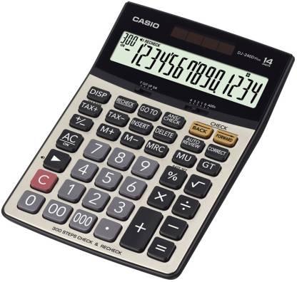 CASIO DJ-240DPLUS Desktop Basic  Calculator