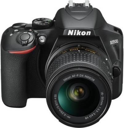 Nikon D3500 DSLR Camera AF-P DX NIKKOR 18-55mm f/3.5-5.6G VR