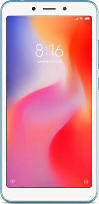 Redmi 6 (Blue, 64 GB)