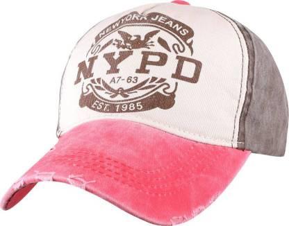 Friendskart Solid pattern print snapback women's caps summer baseball cap retro hat for men's hats Cap