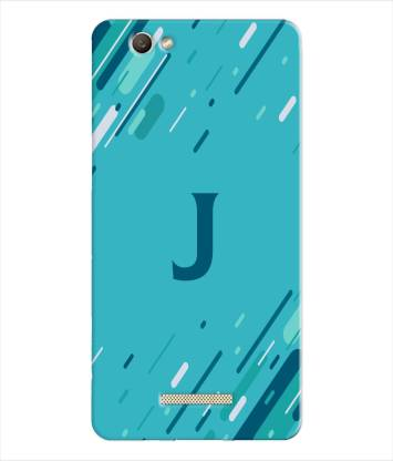 pinaaki Back Cover for Gionee S Plus - Alphabet J