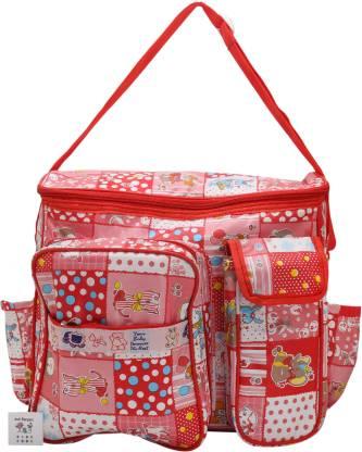 INDI BARGAIN Bag, Baby Carrier Bag, Travelling Bag, Nursery Baby, Diaper Bag Multipurpose Multipocket Bag