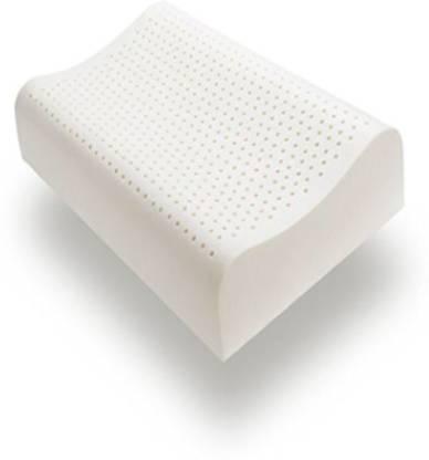 Sleep Spa Latex Polka Orthopaedic Pillow Pack of 1