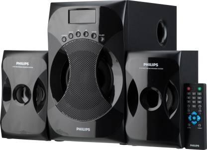 Philips Multimedia Speaker System Explode MMS4040F/94 Black, 2.1 Channel  Philips Speakers