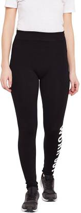 Icable Solid Women Black Tights
